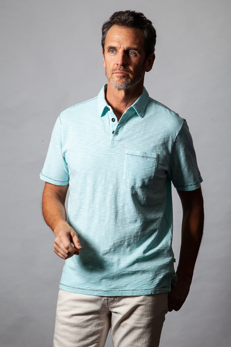 Heritage Slub Short-Sleeve Polo