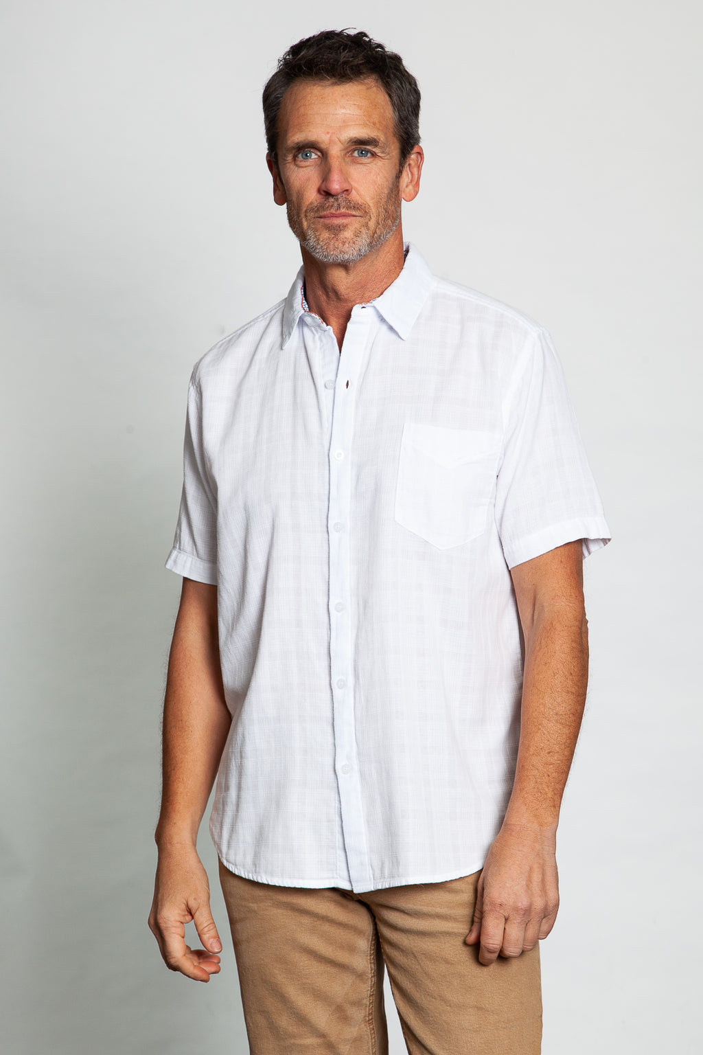 King Tide Checks Short-Sleeve Shirt