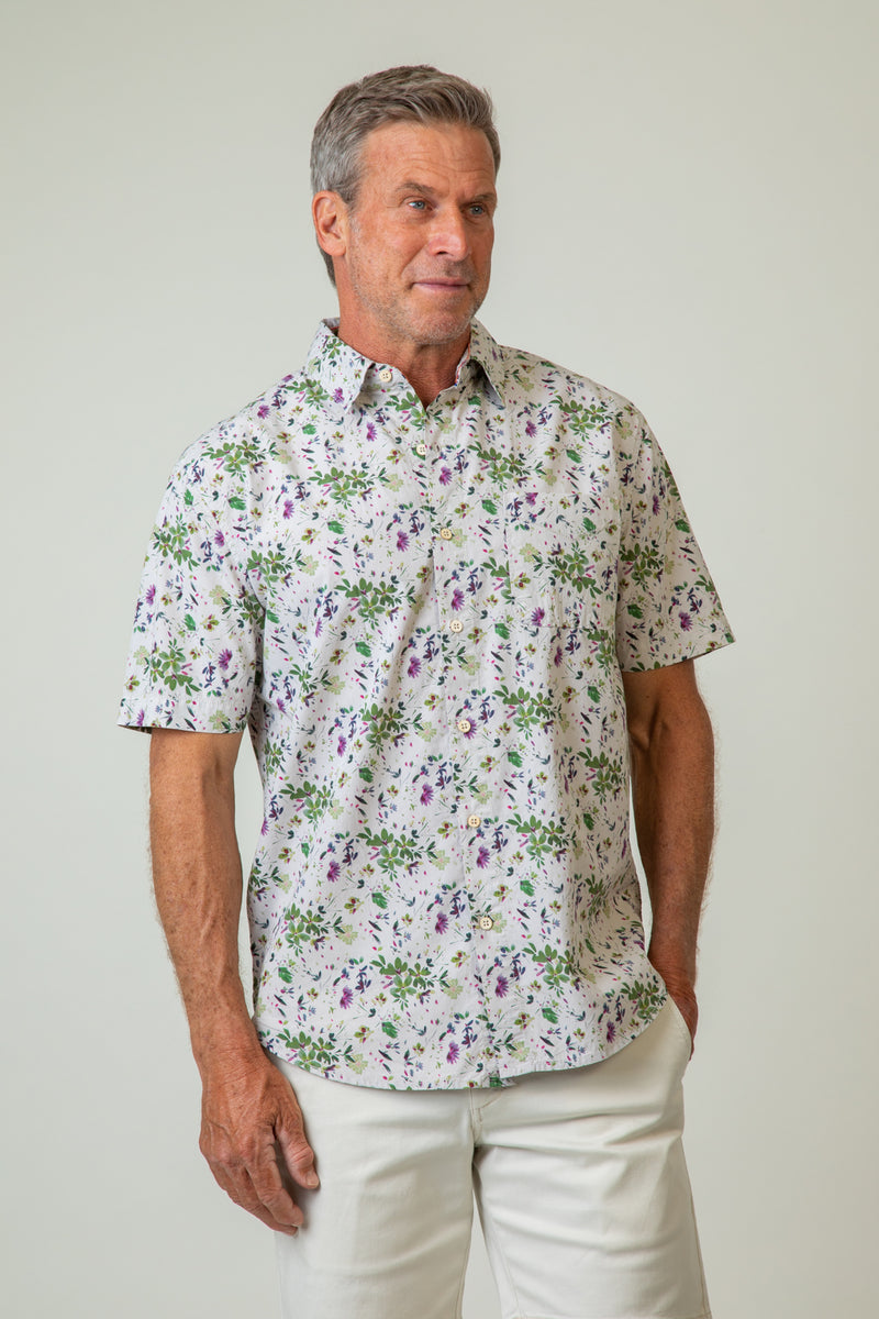 Wildflower Short-Sleeve Shirt