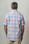 Shadow Plaid Short-Sleeve Shirt