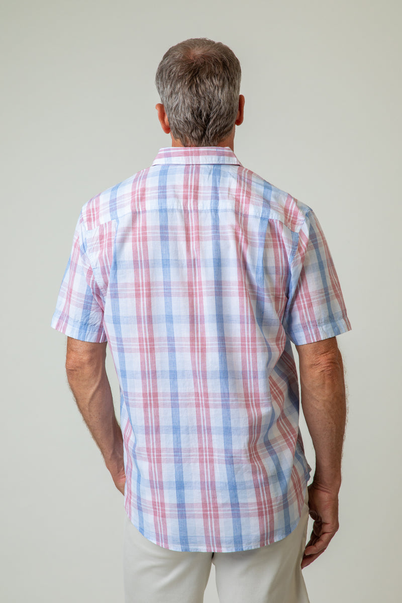 Checkmate Short-Sleeve One-Pocket Shirt