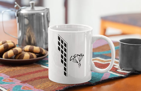 Send It Building Mug