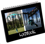 Tailored skydiving logbook in a handy size. Log each jump with details such as jump number, date, DZ, Freefall delay, Equipment, Aircraft, Altitude, Freefall to date and notes for each jumps. It also has a log for your equipment, a DZ list, rating details, yearly jumps overview, tunnel time and freefall chart too.