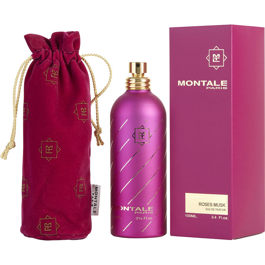 MONTALE ROSES MUSK EDP 100ml FOR WOMEN