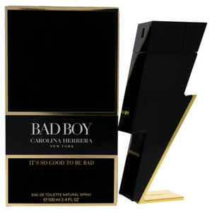 CAROLINA HERRERA BAD BOY IT'S SO GOOD TO BE BAD EDT 100ml FOR MEN