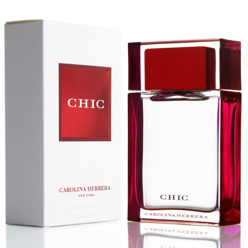 CAROLINA HERRERA CHIC EDP 80ml FOR WOMEN