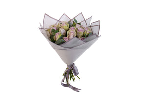 Veerbox Purple Roses Bouquet