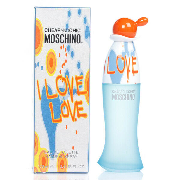 MOSCHINO CHEAP & CHIC I LOVE LOVE EDT 100ml FOR WOMEN