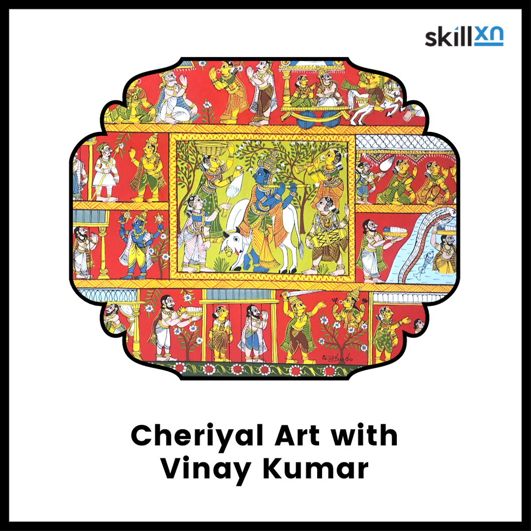 Cheriyal Art Monthly learning plan with Vinay ji
