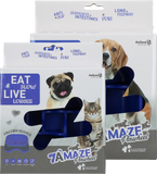 Eat Slow Live Longer Amaze Pinwheel Blue S