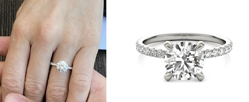 Copy Brittany Snow's engagement ring