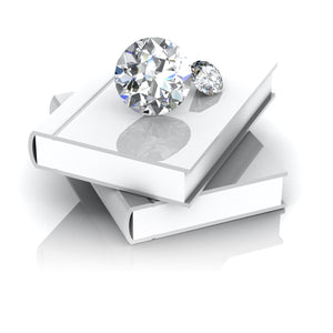 Engagement Ring Education- Learn about the 4 C's of diamonds