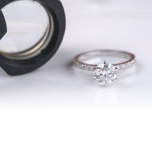 Our promised of high quality craftsmanship, and our efforts to use ethical and sustainable lab grown diamond jewelry