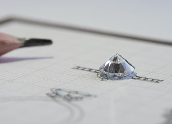 Customizing a lab-grown diamond engagement ring