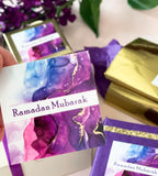 Ink Ramadan stickers with gold foil accent - New for 2021