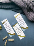 Quran bookmark, Ameen party favor, Pack of 10 or 20