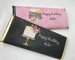 Elegant birthday favors for her
