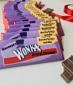 Willy Wonka candy wrapper