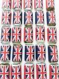 50 mini British party favors, British theme party, English theme party, International theme party,