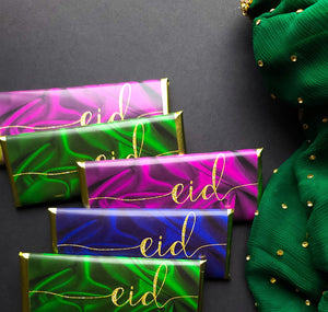 24 Glamorous Eid candy bar wrappers