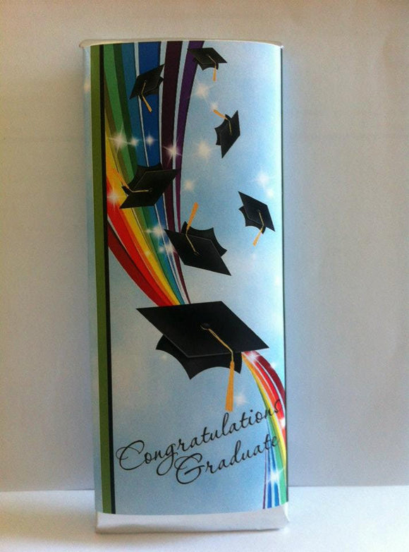 Graduation candy wrappers