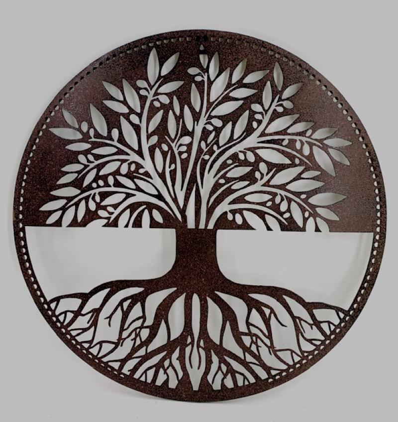 Tree of Life Silhouette Wall Art