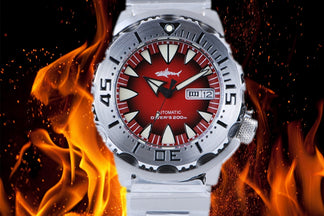 New Arrival Coupon Cod! Heimdallr Monster Automatic Watch