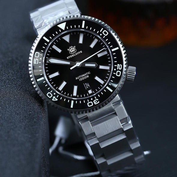 Steeldive 1976 Puck Mechanical Automatic Dive Watch