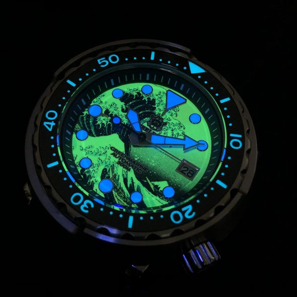 STEELDIVE 1975J Tuna Dive Watch-Limited Edition