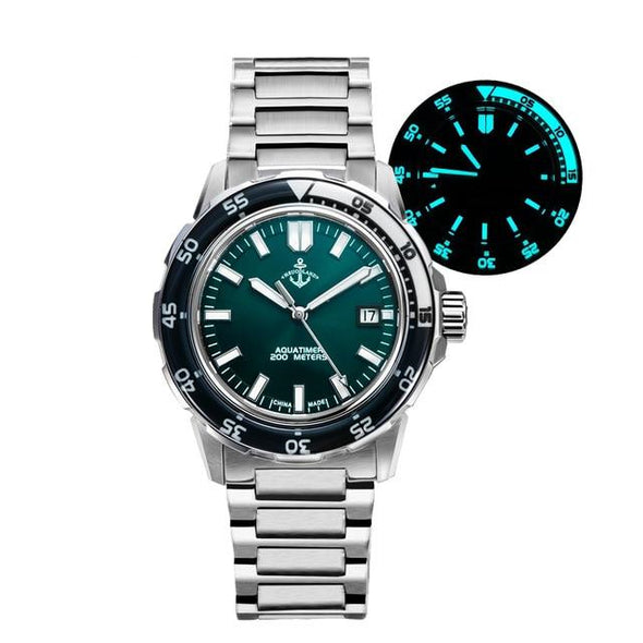 Hruodland Aqua-timer Homage Mechanical Dive Watch