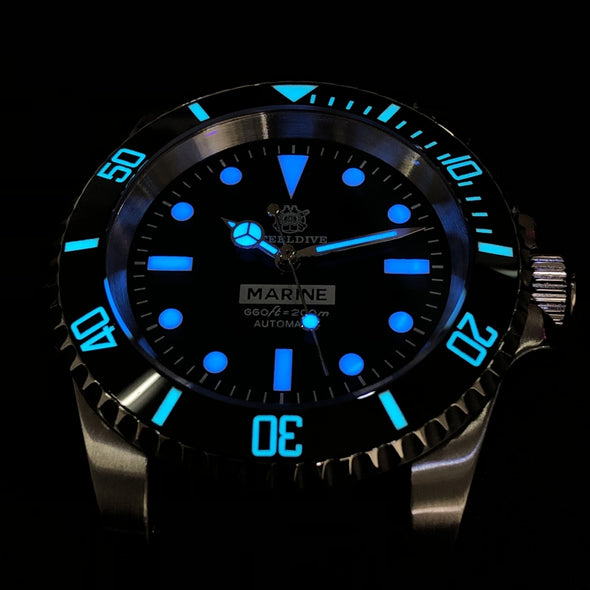 COMEX Watchdives 1965 Diver Watch Luminous