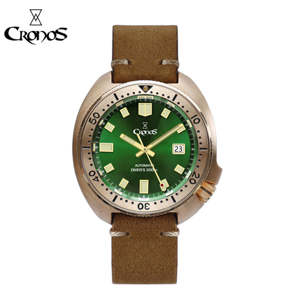Cronos Bronze 6105 Turtle Diver Men