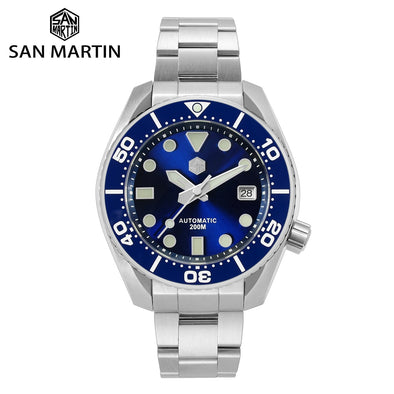San Martin Diver MM200 Automatic Watch SN079