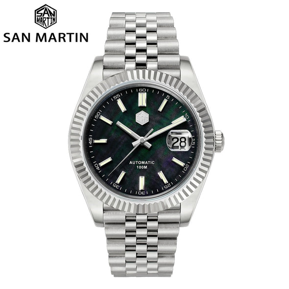 San Martin Jubilee Bracelet Retro Classic Luxury Watch SN058
