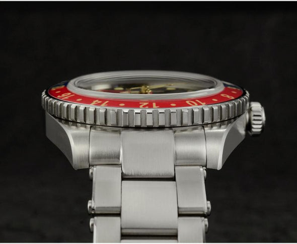 San Martin Vintage GMT SN005 6542 Automatic Watch