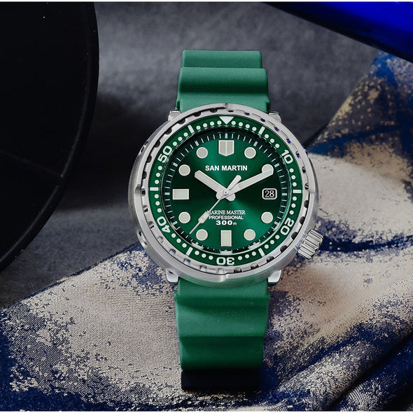 San Martin Tuna Diver Men's Automatic Watches SN003
