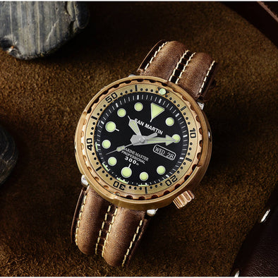 San Martin Bronze Tuna Men's Automatic Watch SN003