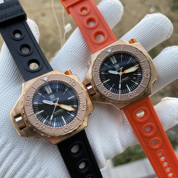 STEELDIVE 1969S Bronze Ploprof Dive Watch
