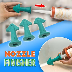 Silicone Caulking Nozzle Finisher Set - 3pcs
