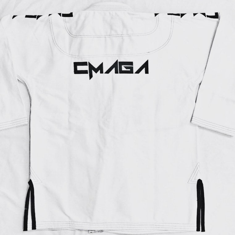 CMAGA Adult Gi White (Custom Design)