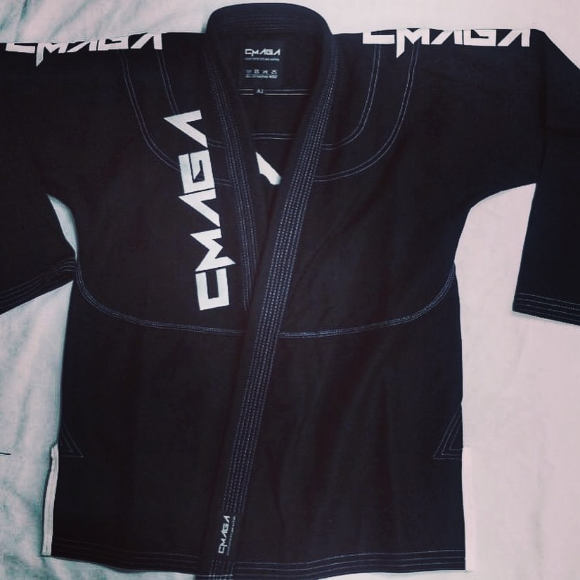 CMAGA Adult Gi Black (Custom Design)