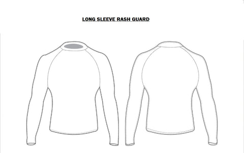 CMAGA Adult Rash Guard Long Sleeve (Custom Design)