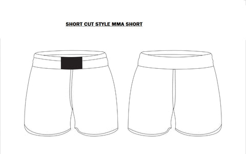 CMAGA Fight Shorts Short Cut (Custom Design)