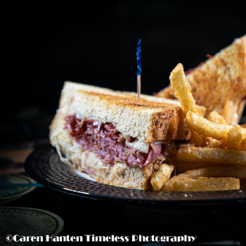 Dempsey's Brewery and Pub Reuben Sandwich