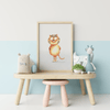 tiger nursery room poster