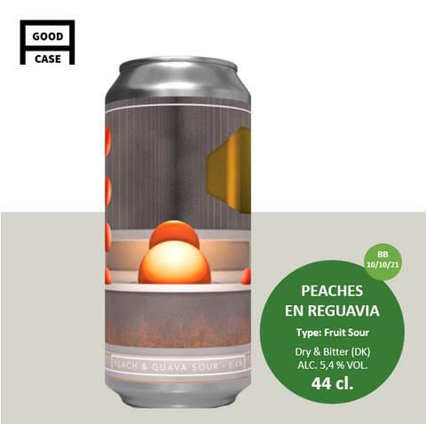 DRY & BITTER / PEACHES EN REGUAVIA / FRUIT SOUR