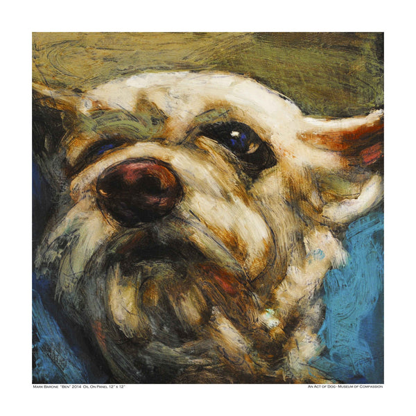 Sweet Ben-Dog Print - An Act of Dog-Museum of Compassion