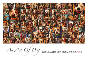 Collage of Compassion - Giclée Dog Print