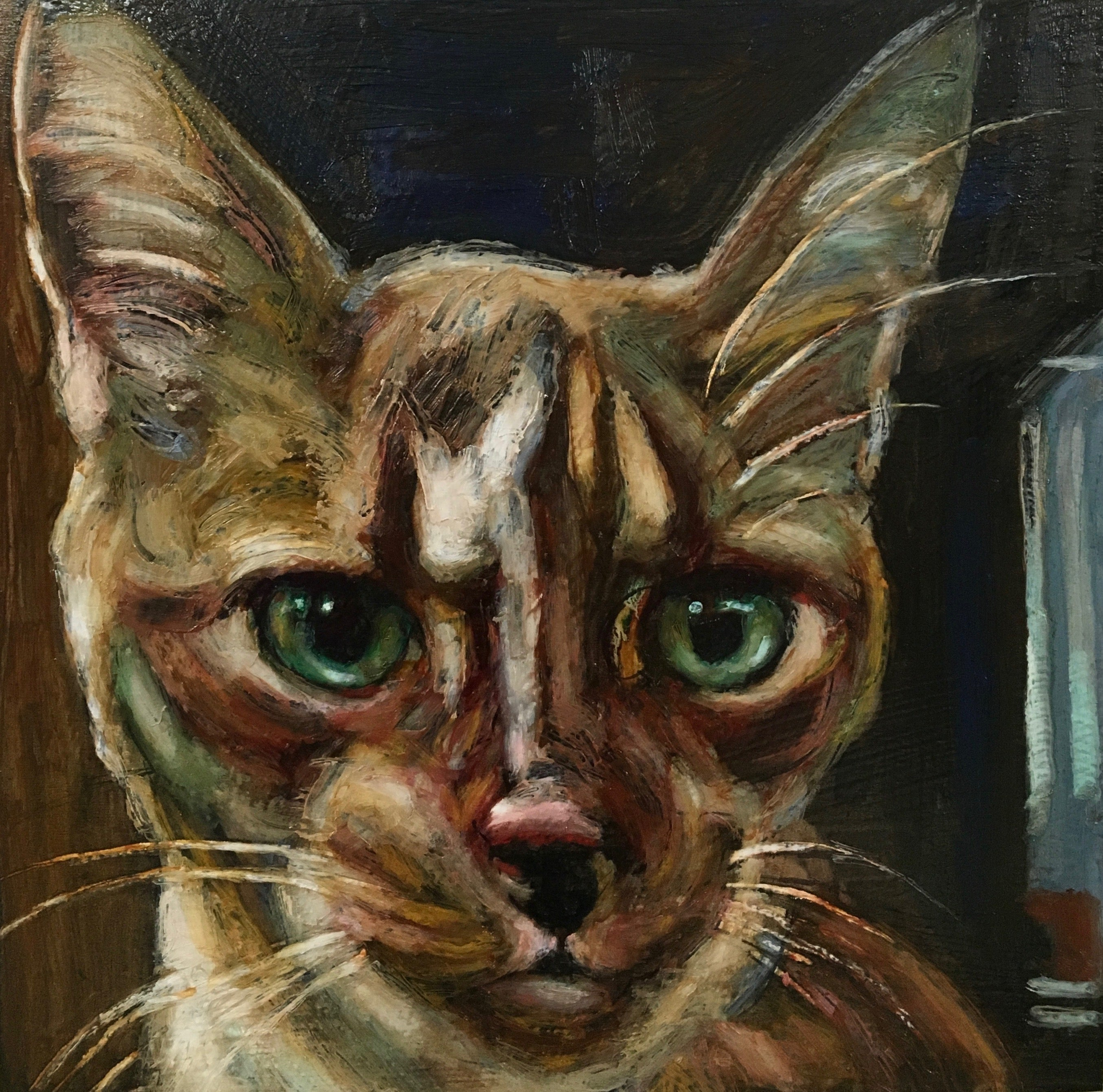af9c6825ba74 Custom Cat Portraits - An Act of Dog-Museum of Compassion