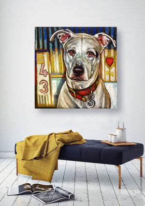Custom Dog Portraits - An Act of Dog-Museum of Compassion